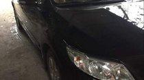 Cần bán Toyota Corolla altis sản xuất 2009, màu đen, giá tốt