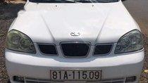 Cần bán lại xe Daewoo Lacetti năm 2004, màu trắng