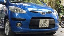 Bán xe Hyundai i10 sản xuất năm 2010, màu xanh lam, giá tốt