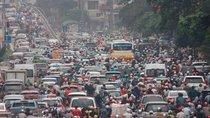 Phương tiện giao thông tăng nhanh, Hà Nội là thành phố ô nhiễm không khí thứ hai ở Đông Nam Á