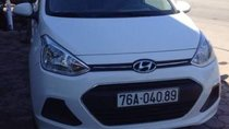 Bán xe Hyundai Grand i10 đời 2015, màu trắng, rút hồ sơ trong ngày