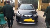 Bán Toyota Vios sản xuất 2016, màu đen, xe của trung tá quân đội