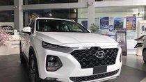 Bán ô tô Hyundai Santa Fe năm 2019, màu trắng, xe mới 100%