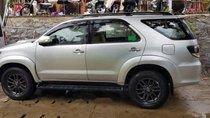 Cần bán lại xe Toyota Fortuner MT sản xuất 2016, màu bạc, cà vẹt 1 đời chủ