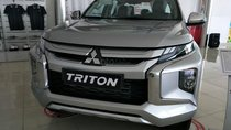 Bán xe Mitsubishi Triton 4x2 AT đời 2019, màu bạc, xe nhập