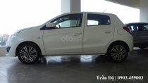 Bán xe Mitsubishi Mirage sản xuất 2018, màu trắng, xe nhập