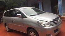 Cần bán xe Toyota Innova G sản xuất 2010, màu bạc xe gia đình, giá chỉ 460 triệu