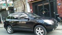 Cần bán xe Hyundai Santafe 2010 số sàn màu đen