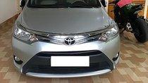 Bán Toyota Vios 1.5E năm sản xuất 2016, màu bạc