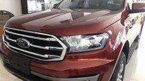 Bán xe Ford Everest sản xuất 2018, màu đỏ, xe nhập