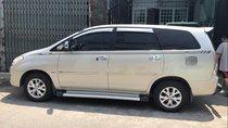 Cần bán lại xe Toyota Innova G đời 2008, màu bạc, 370 triệu