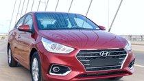 Hyundai Accent 1.4 AT TC màu đỏ xe giao ngay, giá Km kèm quà tặng có giá trị, hỗ trợ vay trả góp. LH: 0903175312
