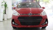 Hyundai Grand I10 màu đỏ, xe giao ngay, hỗ trợ đăng ky Grab, hỗ trợ vay trả góp. LH: 0903175312