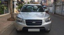 Cần bán xe Hyundai Santafe 2010 số sàn, màu bạc