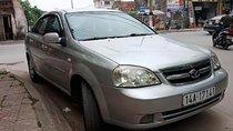 Bán xe Daewoo Lacetti Ex năm 2009, màu bạc xe gia đình