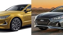 So sánh Hyundai Sonata 2019 với thế hệ cũ