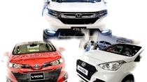 Ngôi vương thị trường ô tô không còn là cuộc đua song mã giữa Toyota Vios và Hyundai Grand i10