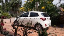 Cần bán xe Hyundai Grand i10 đời 2016, màu trắng, xe nhập