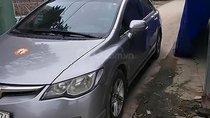 Cần bán Honda Civic đời 2007, màu xám số sàn