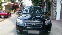 Bán xe Hyundai Santa Fe năm sản xuất 2010, màu đen