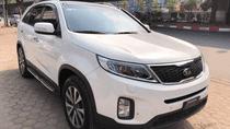 Bán xe Kia Sorento đời 2014 màu trắng, giá tốt