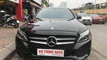 Bán xe Mercedes C200 sx 2015, đăng ký 2016, màu đen