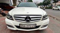 Cần bán Mercedes C250 màu trắng, nội thất kem đời 2011