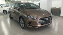 Bán Hyundai Elantra 1.6MT màu nâu xe giao ngay, hỗ trợ đăng kí Grab, hỗ trợ vay trả góp, LH: 0903175312