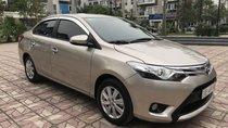 Bán Toyota Vios 1.5G AT đời 2017, màu vàng cát