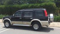 Cần tiền bán Ford Everest sx 2007, màu đen than, số sàn, máy dầu