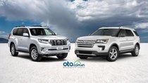 Toyota Land Cruise Prado 2019 liệu sẽ tiếp tục ế ẩm trước Ford Explorer?