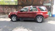 Cần bán lại xe Ford Escape sản xuất năm 2002, màu đỏ, nhập khẩu nguyên chiếc, số tự động, 159 triệu