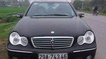 Bán Mercedes C240 sản xuất 2004, màu đen, nguyên bản, sơn zin không lỗi nhỏ