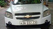 Bán Chevrolet Captiva năm sản xuất 2007, màu trắng, xe gia đình