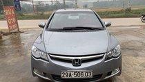 Cần bán lại xe Honda Civic 2.0 AT năm sản xuất 2007, màu xám, nhập khẩu