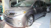 Bán Toyota Sienna Limited màu xám, số tự động, máy xăng 2018
