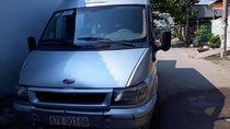 Gia đình cần bán xe Ford Transit 16 chỗ, sx 2004, số tay, máy dầu, màu bạc