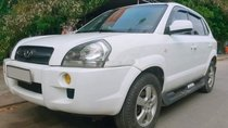 Bán xe Hyundai Tucson đời 2006, màu trắng, xe nhập số sàn