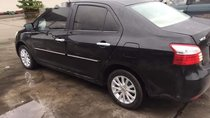 Bán Toyota Vios năm sản xuất 2010, màu đen xe gia đình