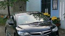 Cần bán xe Honda Civic 1.8 MT đời 2008, màu đen xe gia đình