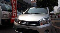 Cần bán xe Suzuki Celerio MT màu bạc, xe phù hợp kinh doanh dịch vụ