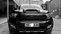 Cần bán lại xe Ford Ranger Widtrak 3.2 2017, màu đen, nhập khẩu chính chủ, giá tốt
