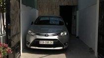 Cần bán xe Toyota Vios sản xuất năm 2017, màu bạc ít sử dụng, giá 450tr