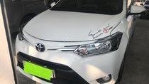 Bán ô tô Toyota Vios 1.5E năm sản xuất 2017, màu trắng, giá chỉ 479 triệu