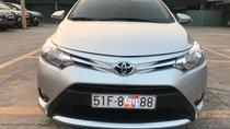 Bán Toyota Vios 1.5E AT sản xuất 2017, màu bạc