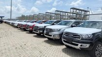 Ford Thủ Đô bán xe Ford Everest: 2.0 Bi tubor, 2.0 trend, Ambient, giá chỉ từ 920. LH 09754346285