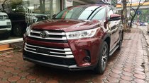 Bán Toyota Highlander LE đời 2018, màu đỏ, xe nhập