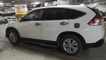 Cần bán xe Honda CR V sản xuất 2014, màu trắng, 740 triệu