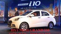 Giá xe Hyundai Grand i10 đời 2019, màu trắng, xe giao ngay, LH: 0902.965.732 Hữu Hân