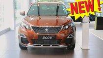 Bán SUV 5 chỗ gầm cao Peugeot 3008 1.6L turbo 2019, màu nâu, giá tốt xin gọi 0909076622 Ms. Hà-P.KD